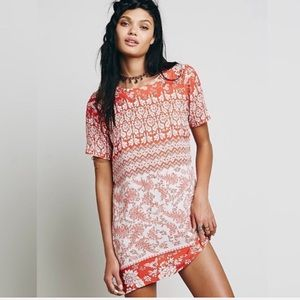 Novella Royale Roadie printed mini dress